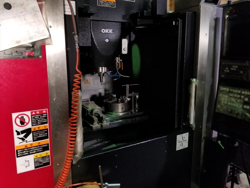 マシニングセンタ×専用治具で加工対応