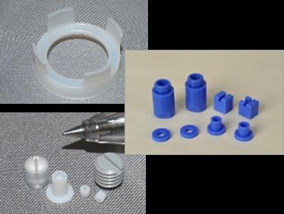 樹脂製品も様々な種類に対応